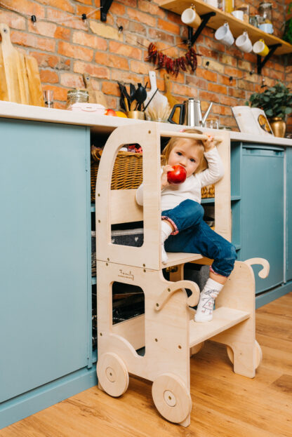 Torre aprendizaje Montessori Sin Pintar