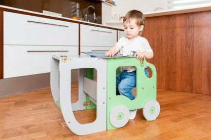 Torre de aprendizaje Car Green