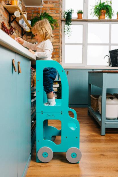 Torre aprendizaje Montessori Azul Azul