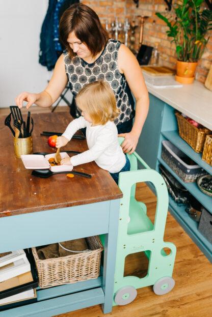 Torre aprendizaje Montessori Verde Verde